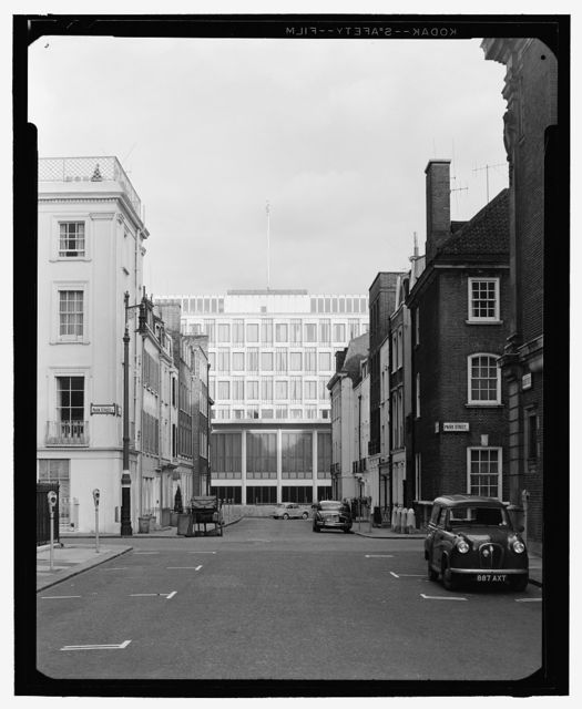 United States Embassy, London, 1955-60. Exterior