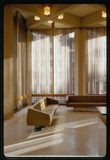 United States Embassy, London, 1955-60. Interior