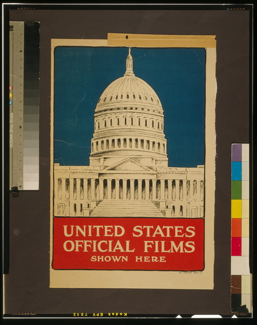 United States official films shown here / The Hegeman Print N.Y.