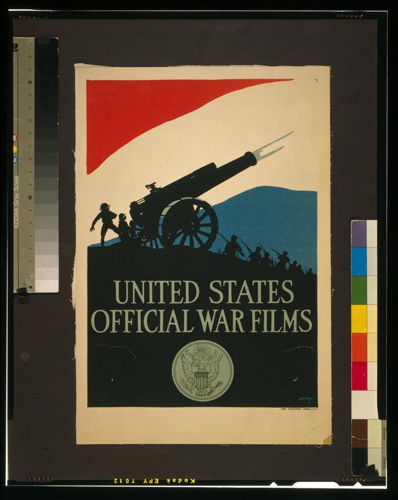 United States official war films / Kerry ; The Hegeman Print N.Y.