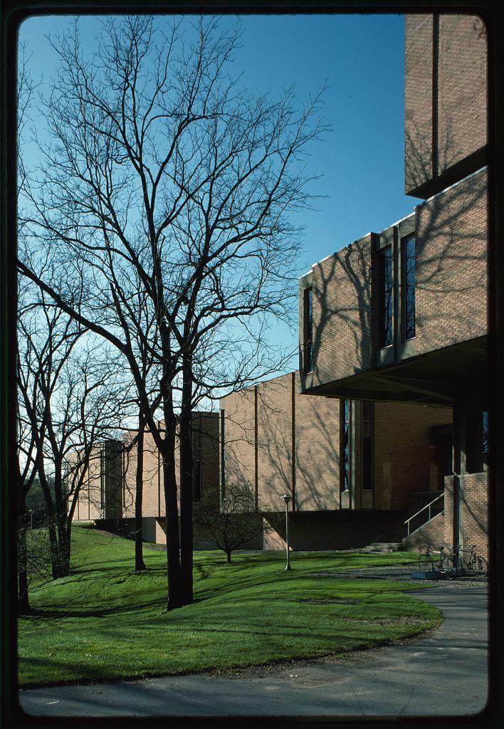 University of Michigan, School of Music, Ann Arbor, Michigan, 1952-58. Exterior detail