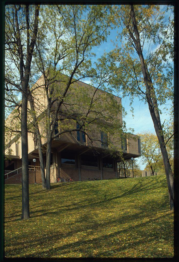 University of Michigan, School of Music, Ann Arbor, Michigan, 1952-58. Exterior