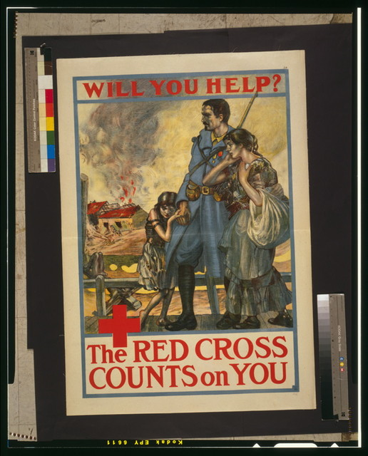Will you help? The Red Cross counts on you / Woodward, St. Louis.