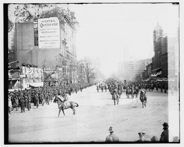 Wilson Inauguration, 1917