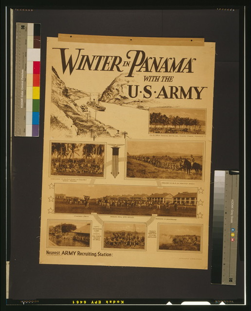 Winter in Panama with the U.S. Army