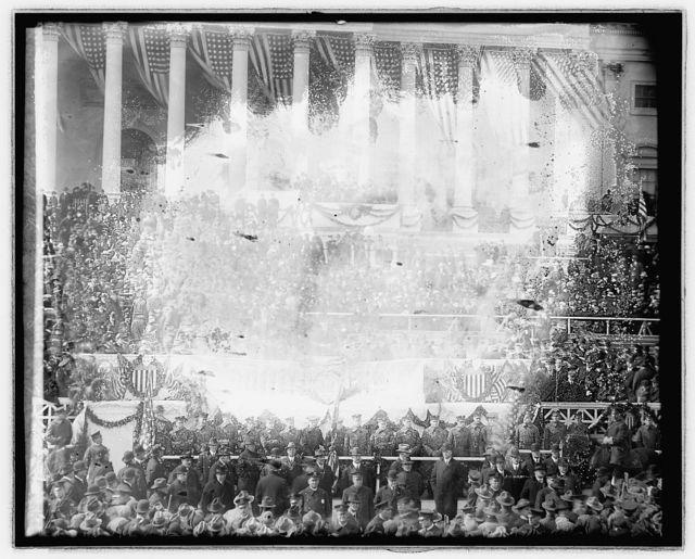 Woodrow Wilson Inaugural, [Washington, D.C.], Mch. 4 [i.e., March 5], 1917