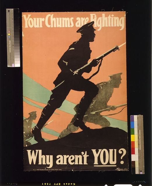 Your chums are fighting -- why aren't you?