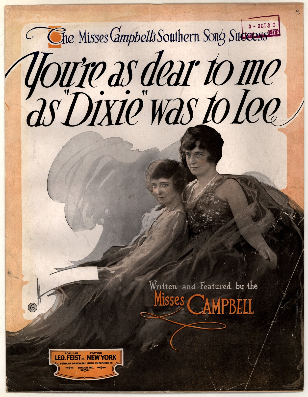 You're as dear to me, as Dixie was to Lee