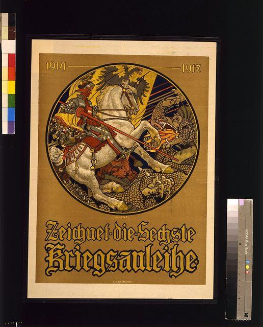 Zeichnet die sechste Kriegsanleihe, 1914-1917 / M. Lenz.