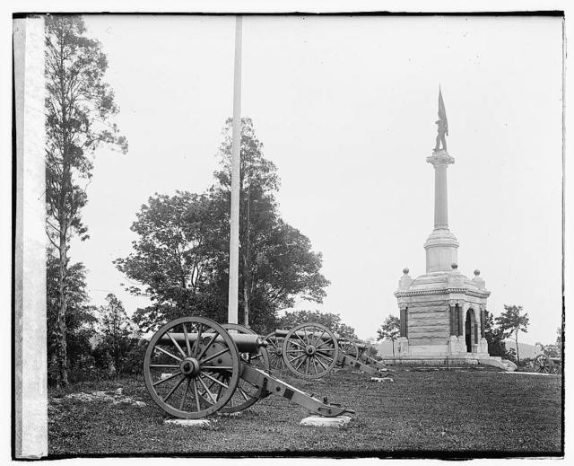 [3rd Maryland Infantry, U.S.A. & Latrobe's Battery, C.S.A. monument, Chattanooga, Tennessee