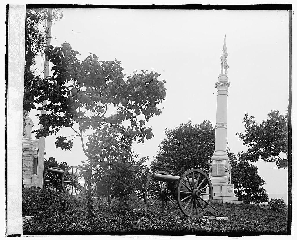 [3rd Maryland Infantry, U.S.A. & Latrobe's Battery, C.S.A. monument, Chattanooga, Tennessee]