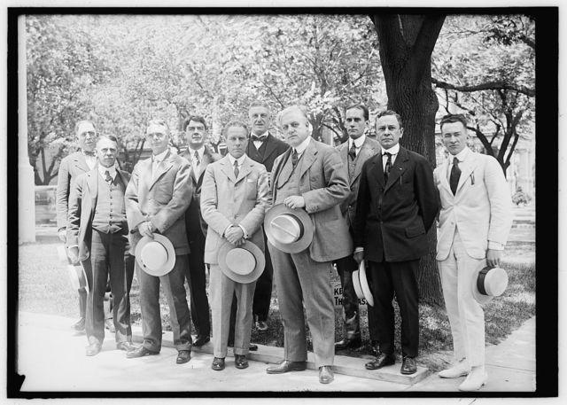 ALIEN PROPERTY CUSTODIAN EXECUTIVE STAFF: HOMER A. DUNN; FRED J. HORNE; LEE C. BRADLEY; J.E. McCLOSKEY; J.L. DAVIS, MANAGING DIRECTOR; JOHN E. COOPER; A. MITCHELL PALMER; MANSFIELD FERRY; NORMAN DREHER; ROBERT T. SCOTT