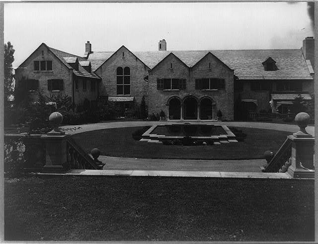 [Allgater, the home of the Horatio Gates Lloyd family, exterior view]