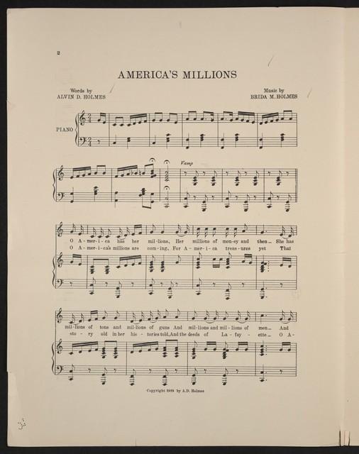 America's millions