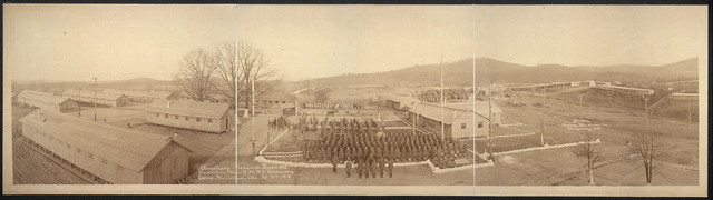 Auxiliary Remount Depot 309, Captain Oscar Blue, G.M.R.C. commanding, Camp McClellan, Ala., Feb. 13th, 1918