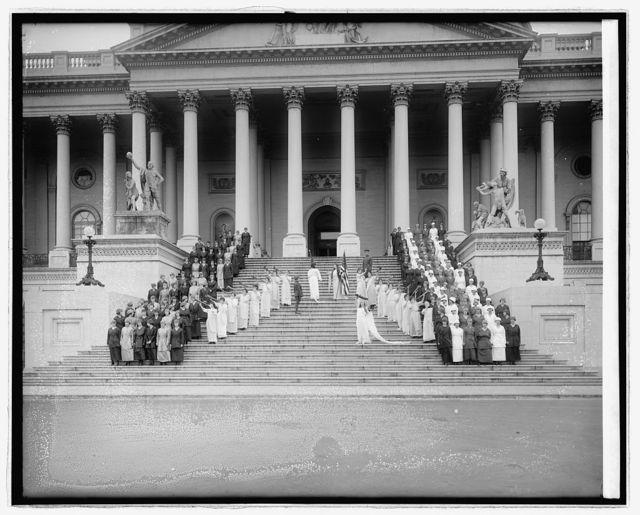 Belgian pageant, [U.S. Capitol, Washington, D.C.]