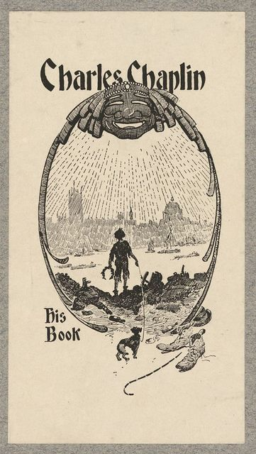 [Bookplate of Charles Chaplin]