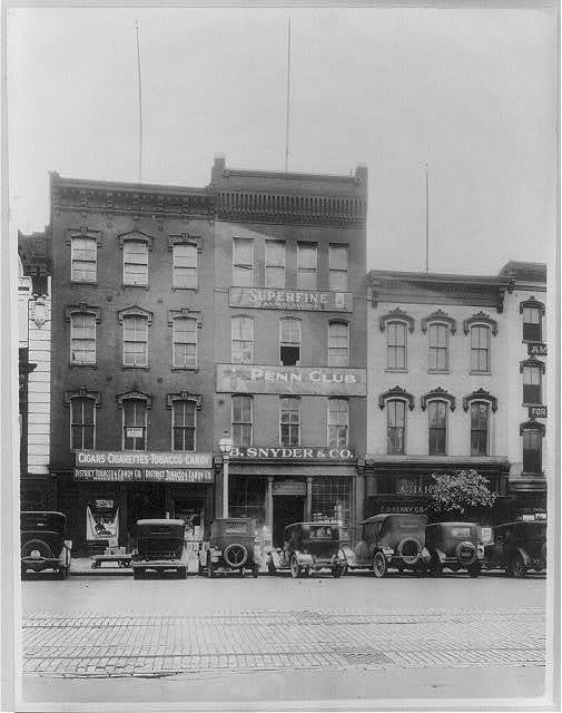 [Business establishments in the 600 block of Pennsylvania Ave., N.W., Washington, D.C.]