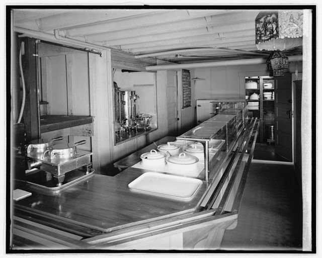 Cafeteria, Girl Scouts Little House, Vollrath Co. Mrs. Varney