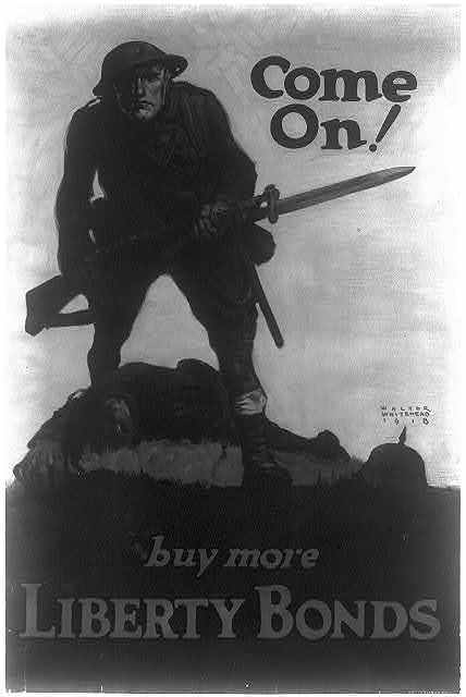 Come on! Buy more Liberty Bonds / Walter Whitehead 1918.