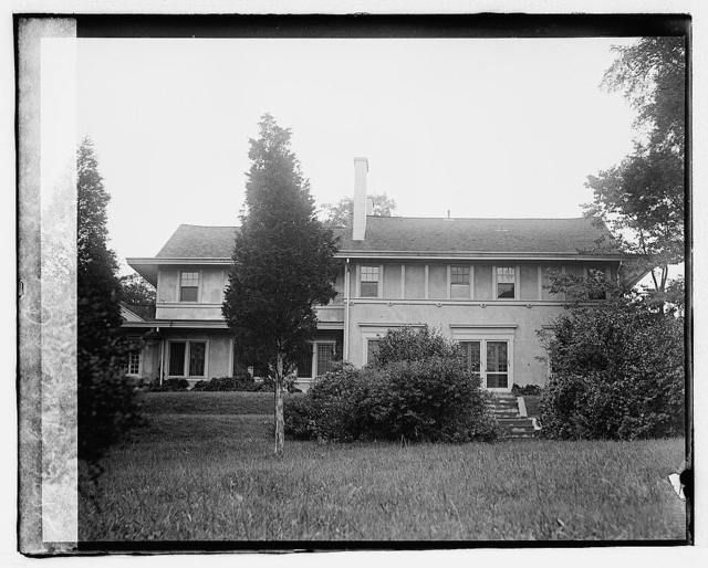 [...] Corbin House, Chevy Chase, [Maryland]