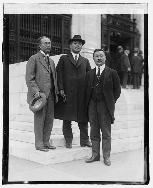 Delegates of Japan to International Labor Conf.