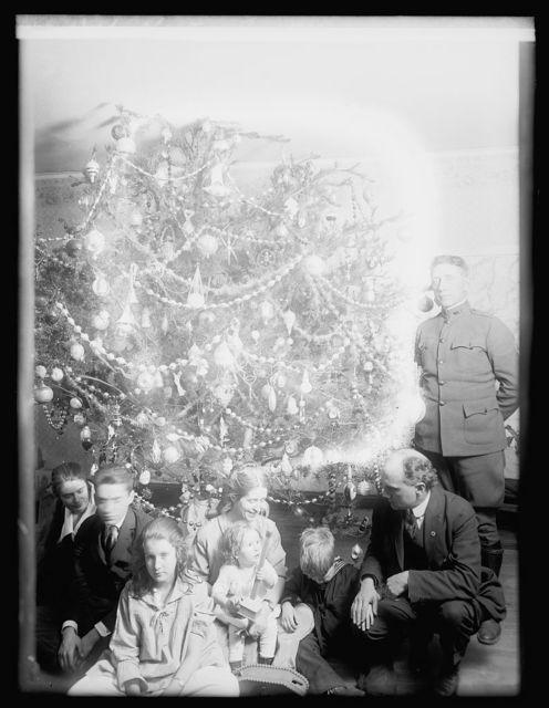 Dickey Christmas tree, 1918