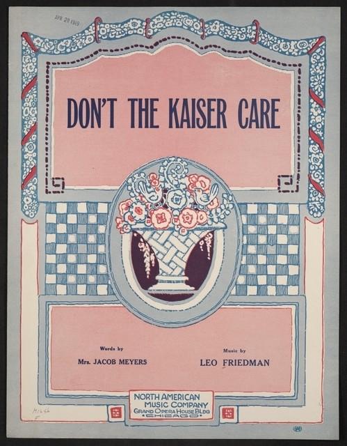 Don't the Kaiser care