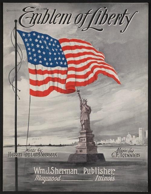 Emblem of liberty