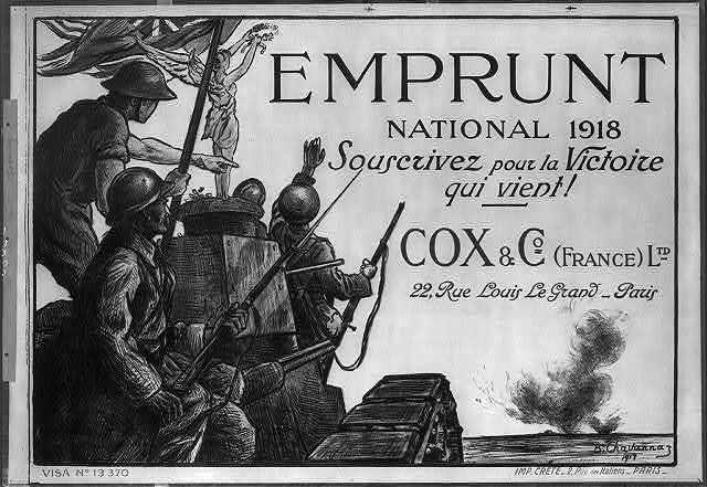 Emprunt National 1918. Souscrivez pour la victoire qui vient!