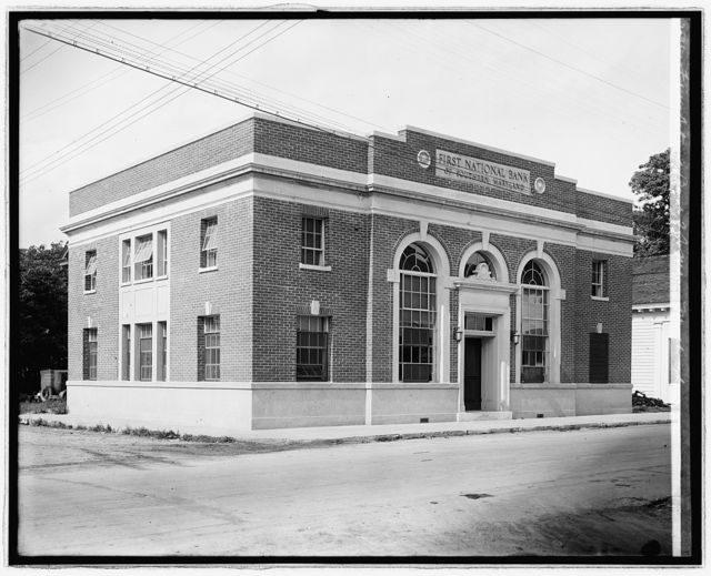 First National Bank of So. Md. Marlborough