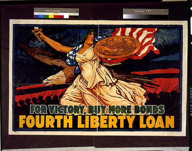 For victory, buy more bonds. Fourth Liberty Loan / J. Scott Williams.