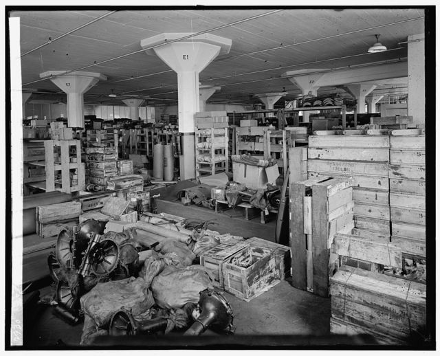 Ford Motor Co. stock room