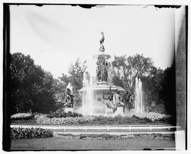 Fountain, Capitol grounds, Hartford, Conn.