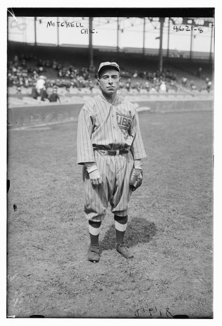 [Fred F. Mitchell, manager, Chicago NL (baseball)]