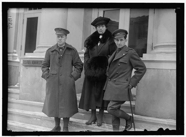 FUEL ADMINISTRATION, U.S. PRIVATE SCOTT, MRS. PEAT AND PRIVATE PEAT, SPEAKERS FOR FUEL ADM.