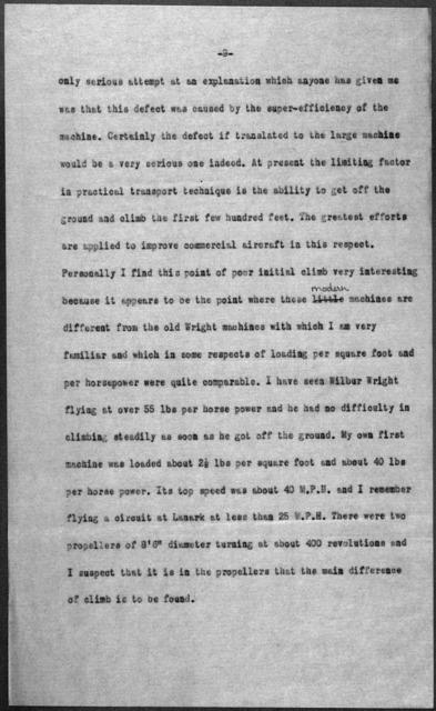 General Correspondence:  Ogilvie, Alec, 1918-1924, undated
