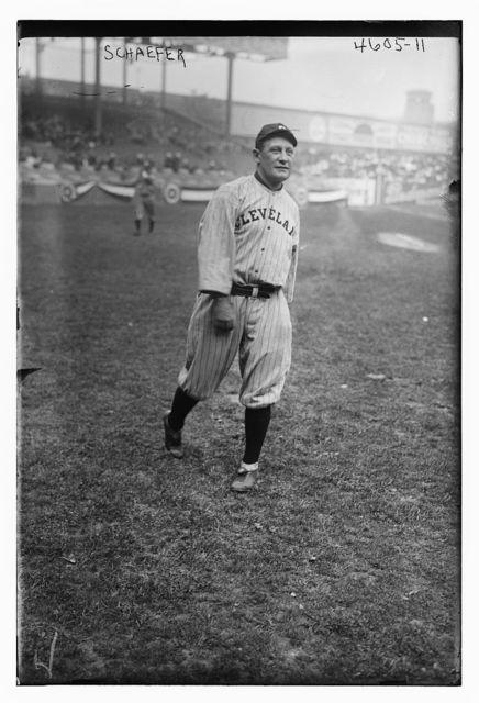[Germany Schaefer, Cleveland AL (baseball)]
