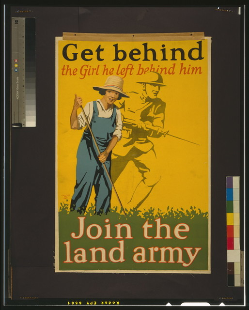 Get behind the girl he left behind him Join the land army / / Guenther.