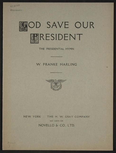 God save our president the presidential hymn