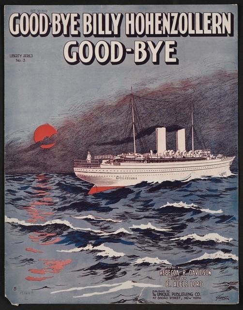 Good-bye Billy Hohenzollern good-bye