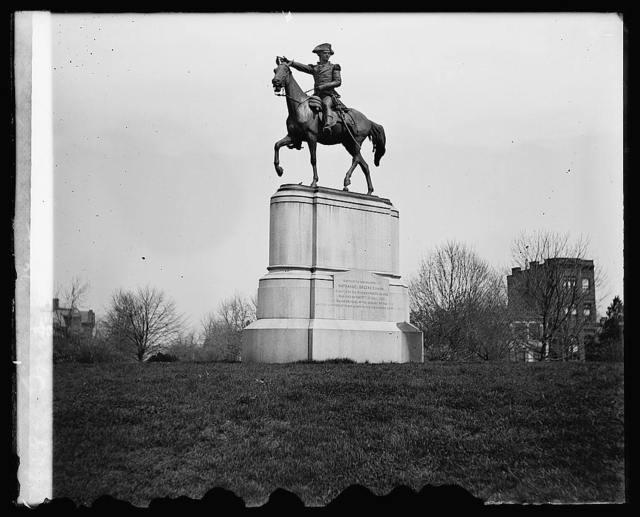 Greene statue