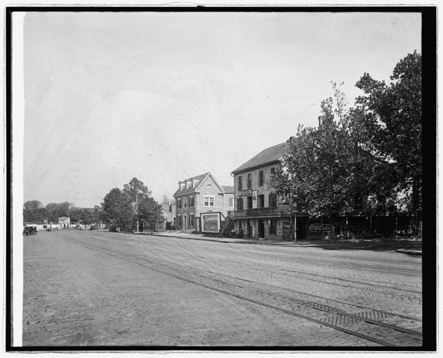 Harry Wardman Co., old house, Water & M, S.W., [Washington, D.C.]