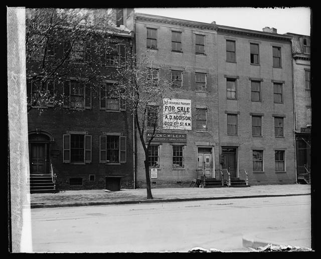 Headquarters of Genr. Scott [... 616 Seventeenth Street, Washington, D.C.]