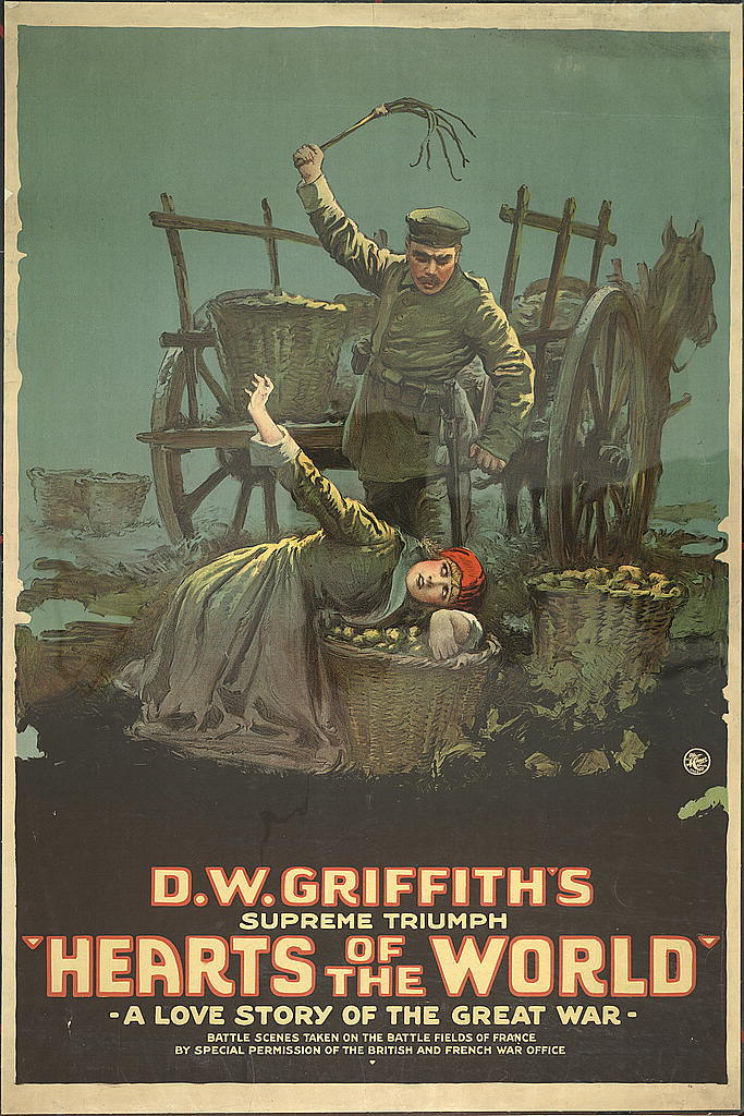 """""""Hearts of the world"""" A love story of the great war."""