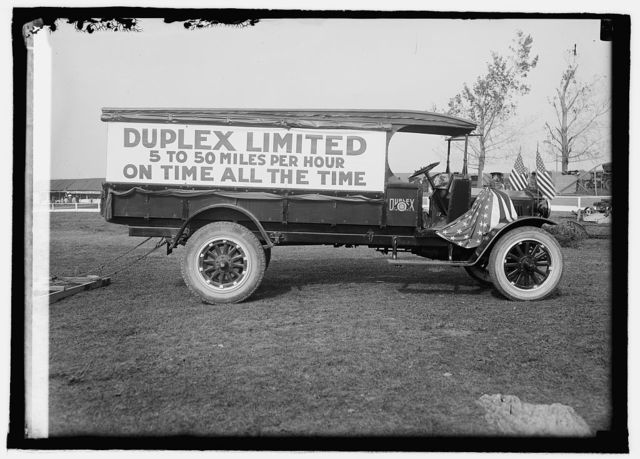 Herald tours, Frederick fair, duplex truck