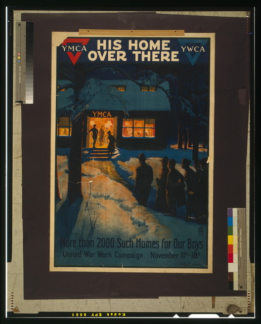 His home over there--More than 2000 such homes for our boys United War Work Campaign, November 11th - 18th / / Albert Herter.