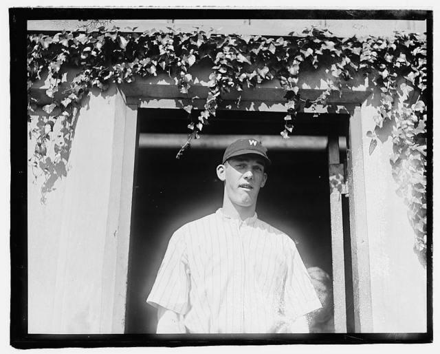 [H.S. Courtney in baseball uniform]
