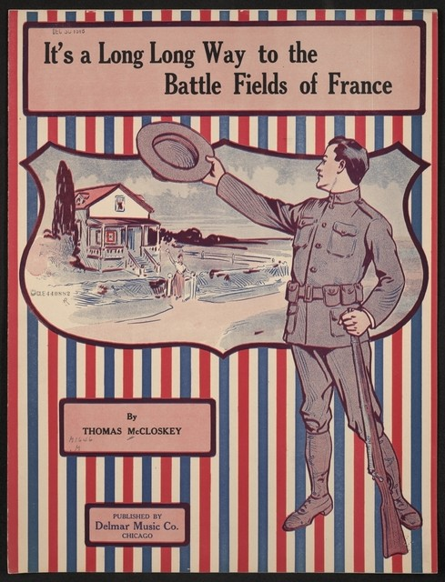 It's a long, long way to the battle fields of France
