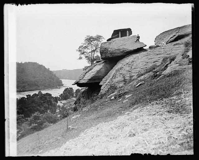 Jefferson Rocks, Harpers Ferry, [West Virginia]